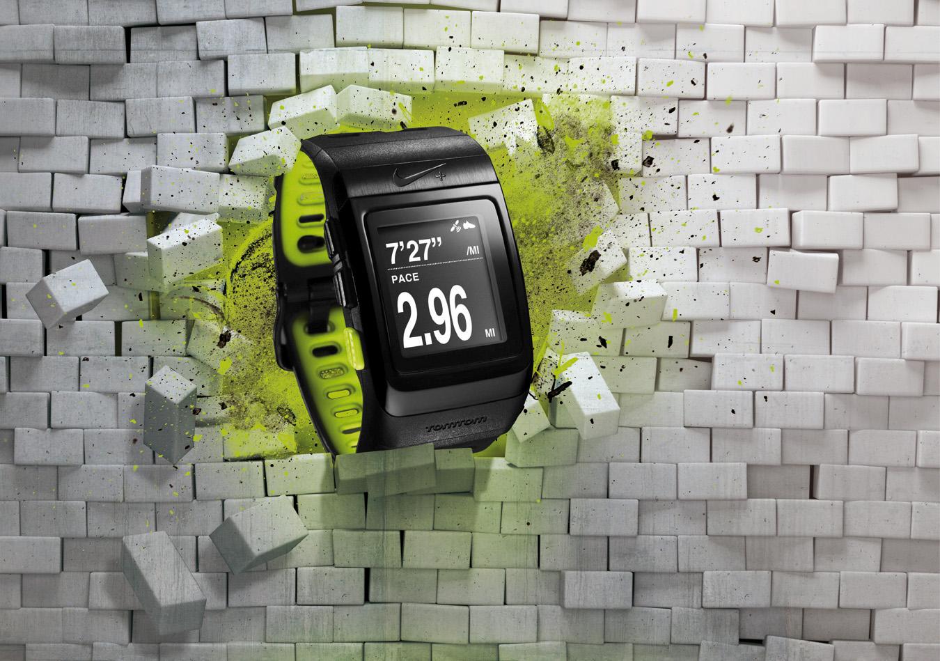 Opération magasin pour la sortie de la nouvelle montre Nike+ GPS by Tomtom