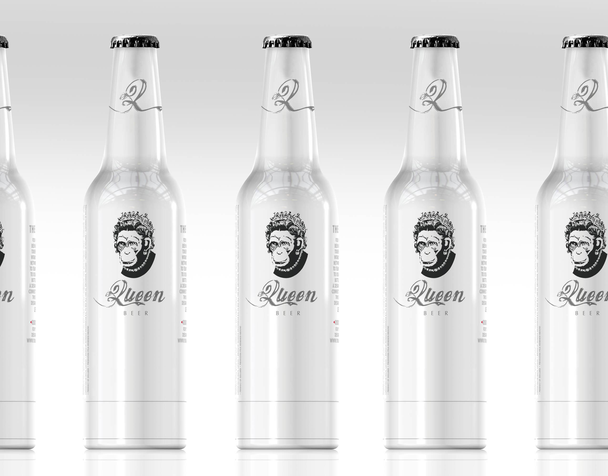 P&L signe le design et la communication de la nouvelle bière QUEEN. lancement fin septembre en belgique